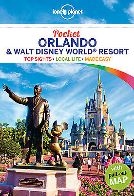 Lonely Planet POCKET ORLANDO & DISNEYWORLD (Travel Guide) - BRAND NEW PAPERBACK