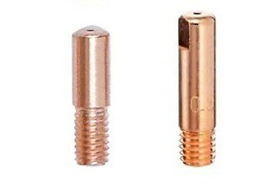 MIG Welding Contact Tips - M5 and M6 - 0.6mm, 0.8mm, 1.0mm - Various Pack Sizes