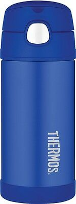 Thermos FUNtainer Stainless Steel Vacuum Insulated Drink Bottle (Blue)