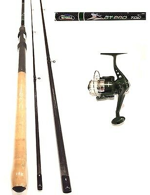 Mitchell Carbon Match / Float Fishing Rod and Reel 12 ft + Line GT Pro Cork