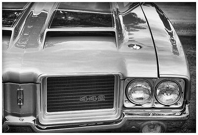 1971 Oldsmobile 442 W-30 Photo Print Art 13x19 Mancave Dr. Olds Cutlass 4-4-2