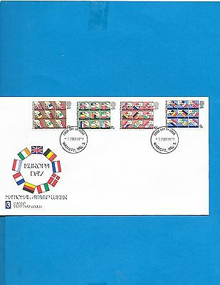 Great Britain  FDC  # 859-62
