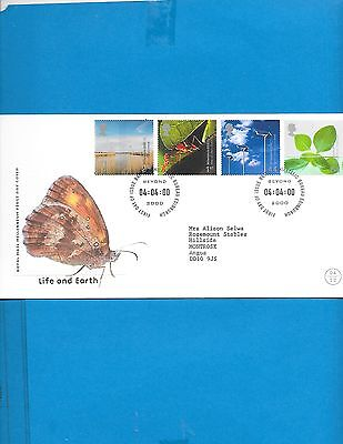 Great Britain  FDC  # 1902-05( Address)