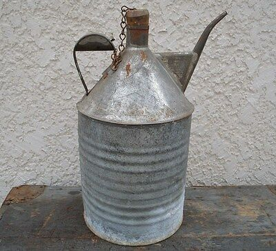 Vintage Kerosene Train Railroad Oil Can CPR With Handle Canadian Pacific Railway