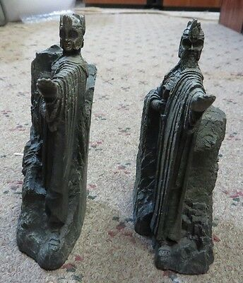 Lord of the rings bookends sculptures argonath sideshow weda cad picclick ca - Argonath bookends ...