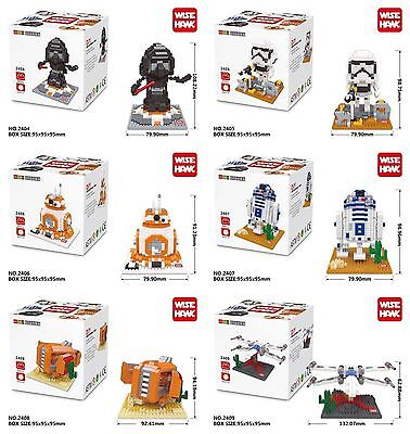 Star Wars Force Awakens Nanoblocks Kylo Ren Party Supplies Building Blocks 6 Set