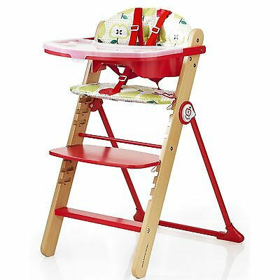 New Cosatto Strudle Waffle Highchair Baby Adjustable High Chair & Removable Tray