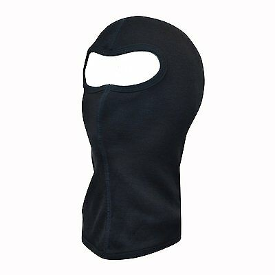 Extremities Merino Balaclava - Colour: Black - Various Sizes Available
