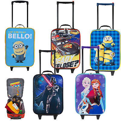 Kinderkoffer DISNEY by FABRIZIO Kindertrolley Trolley Kindertasche Bag AUSWAHL