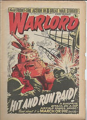 Warlord Comic number 146 , July 9th 1977