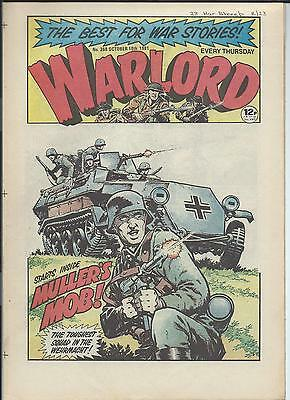 Warlord Comic number 368 , Oct 10th 1981