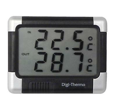 Digital Car Thermometer Indoor or Outdoor Temperatures -50/ +70 - Adhesive