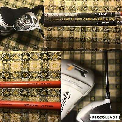 Taylormade R1 driver 2 Shaft Extra Stiff Tour