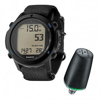 Suunto D6i Novo Black Zulu + Sonda 01IT