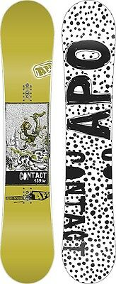 APO Contact Hybrid Camber Snowboard, 159cm Wide, 2015