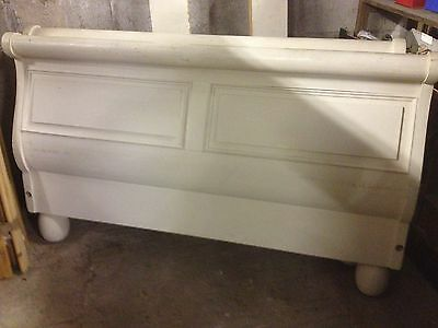King Size French Style Double Sleigh Bed