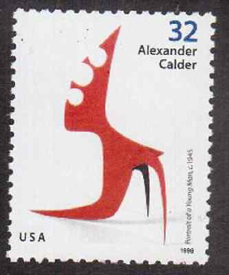 Scott #3201...32 Cent...A. Calder... 15 Stamps