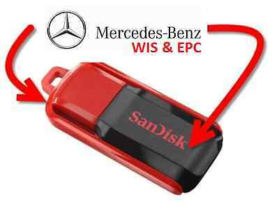 New 2015 Mercedes - WIS ASRA & EPC  **Supplied on USB Memory Drive**