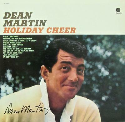 Dean Martin Hand Signed Autograph Lp Album-Holiday Cheer