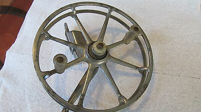 Large Vintage Fly Reel   Goite                Clear Handles