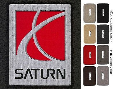 Lloyd Mats Saturn Logo Classic Loop Custom Fit Front Floor Mats (1991-2010)