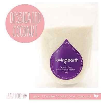 Loving Earth Desiccated Coconut - 250g