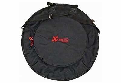 XTREME DA571 22 Inch Cymbal Bag with Shoulder Strap and Back Pack Strap