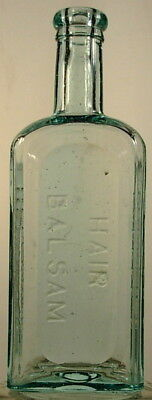 Parker's Hair Balsam New York Ny Aqua Color Bottle 1900