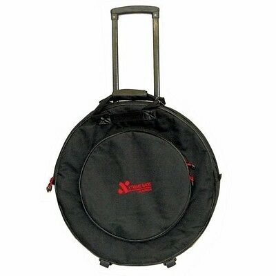 XTREME DA582W 22 Inch Cymbal Bag with Wheels and Accesorries Pockey