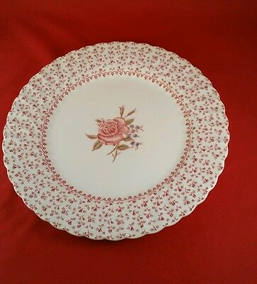 "Johnson Brothers Rose Bouquet 9 3/4"" Plate"