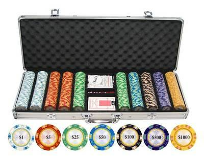 Monte Carlo Clay Poker Chip Set [ID 59318]
