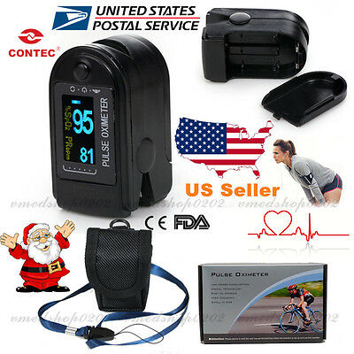FDA US seller Finger Tip OLED Pulse Oximeter Blood Oxygen Meter Spo2 PR monitor
