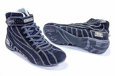 SIMPSON SAFETY Size 10-1/2 Black Circuit Pro Driving Shoes P/N CP105BK