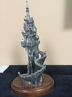 """Perth Pewter """"castle Of Crystal Dreams"""" Limited Edition By James Lane Casey"""