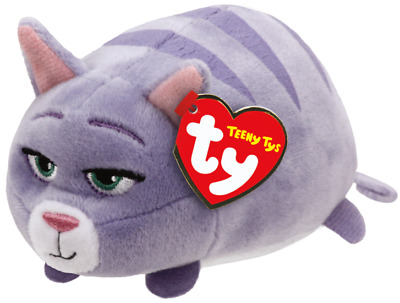 Ty Teeny Tys The Secret Life of Pets Chloe New w/ Heart Tags MWMT's Stackable