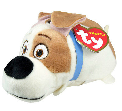 MAX Ty Beanie Boos Teeny Stackable Plush Secret Life of Pets