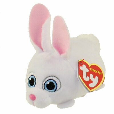 Ty Teeny Tys The Secret Life of Pets Snowball New w/ Heart Tags MWMT's Stackable