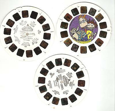 51) Viewmaster Reel - Wild Thornberrys - set of 3