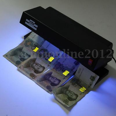 Professional UV Counterfeit Money Detector Portable Bill Currency Fake Tool Test