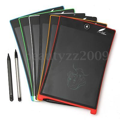 "8.5"" LCD Writing Tablet Office Family School Paperless Drawing Tablets Pad Note"