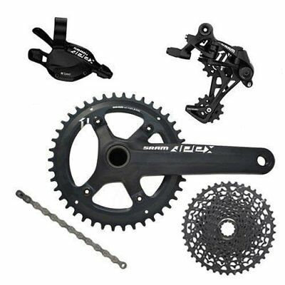 SRAM APEX 1 1x11 Speed Trigger Shifter Groupset Kit 6 piece