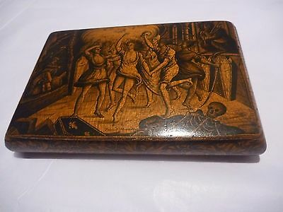 Snuff box importnt ROBERT BURNS relic museum quality alloway ayrshire poet ghost