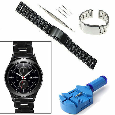 New Stainless Steel Metal Watch Band for Samsung Gear S2 Classic R732 R7320 R