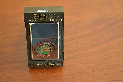 ZIPPO Lighter, Special Export, Beer, Polished Chrome, X/1994, Sealed, M504