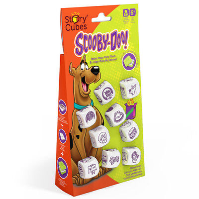 Story Cubes Mix - Hangtab Scooby Doo Rory Creativity Hub Game Multi Boardgame Di