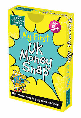 My First UK Money Snap and Pairs Card Game - Educational Game for Children 5+ Ye