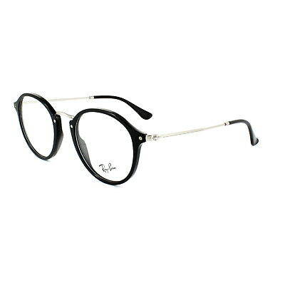Ray-Ban Glasses Frames 2447V 2000 Black & Silver