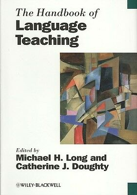 The Handbook of Language Teaching by Michael H. Long Hardcover Book (English)