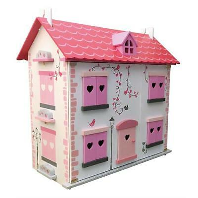 Diamond Wooden Dollhouse with Furniture Kit FREE NEXT DAY DELIVERY