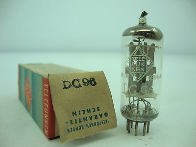 Dc96 Tube. Telefunken Brand Tube. With <>. Nos / Nib. Rc101.